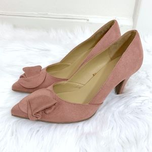 Naturalizer Molly Pumps in Mauve Size 8W